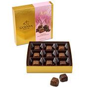 Godiva 9 Piece Valentine Chocolate Caramels Gift Box