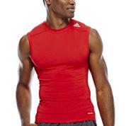 adidas® Techfit Sleeveless Shirt