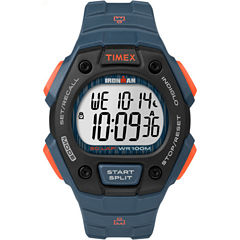 Timex Ironman Classic Mens Blue Strap Watch-Tw5m096009j