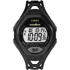 Timex Ironman Sleek 30 Mens Black Strap Watch-Tw5m104009j