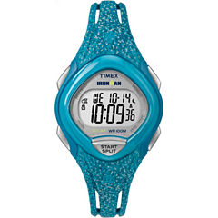 Timex Sleek 30 Womens Blue Strap Watch-Tw5m088009j