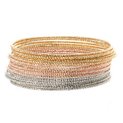 Natasha Accessories Womens Bangle Bracelet