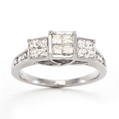 tw diamond ring 10k white gold - Jcpenney Jewelry Wedding Rings