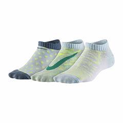Nike Girls No Show Socks-Big Kid