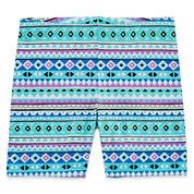 Okie Dokie Pattern Knit Skorts - Preschool Girls