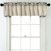 JCPenney Home Linen Rod Pocket Blackout Lined Tailored Valance