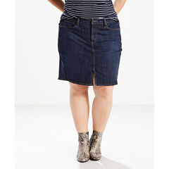 Levi's Denim Skirt-Plus