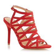 Head Over Heels by Dune Manara Strappy Pumps