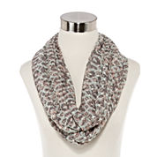Big Buddha Geo Swiss Dot Loop Scarf