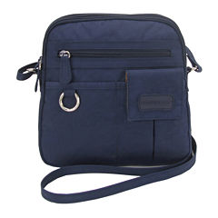 St. John's Bay North/South Mini Zip Around Bag