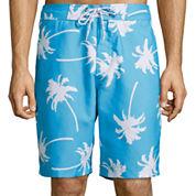 St. John's Bay® Print Swim Trunks