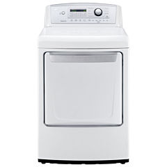 LG 7.3 cu. ft. Ultra-Large High-Efficiency Gas Dryer with Sensor Dry Technology