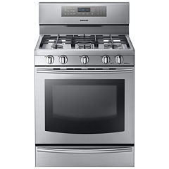 Samsung 5.8 Cu. Ft. Gas Range with True Convection