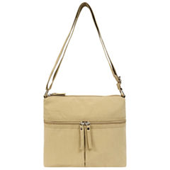 St. John's Bay Crushed Nylon Crossbody Bag
