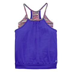 Xersion 2fer Tank Top - Girls' 7-16 and Plus