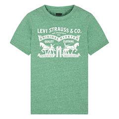 Levi's Short Sleeve T-Shirt-Big Kid Boys