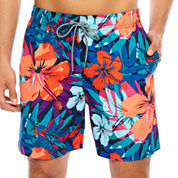 Arizona Hibiscus Print Volley 6.5