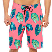 Arizona Az Printed  Board Drawstring Leaf Trunks