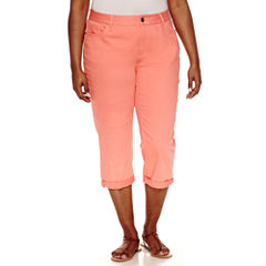 St. John's Bay Cropped Pants-Plus (23