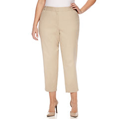 Liz Claiborne Slim Fit Ankle Pants-Plus (27