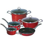 Chantal® Copper Fusion® 9-pc. Nonstick Cookware Set