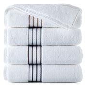 Royal Velvet® Egyptian Cotton Striped Dobby Washcloth