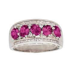 LIMITED QUANTITIES  Genuine Pink Tourmaline Sterling Silver Ring