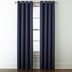 Liz Claiborne® Kathryn Grommet-Top Window Treatments