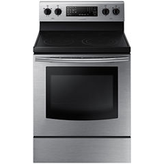 Samsung 5.9 Cu. Ft. Free-Standing Electric Range with Fan Convection
