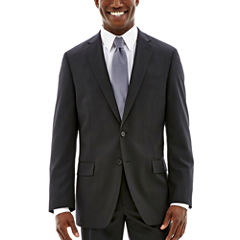 Claiborne® Black Solid Stretch Suit Jacket - Classic Fit