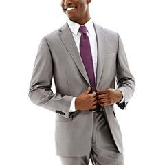 Claiborne® Shimmer Herringbone Stretch Suit Jacket