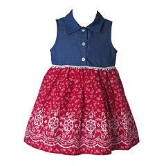 Lilt Sleeveless Babydoll Dress - Baby Girls