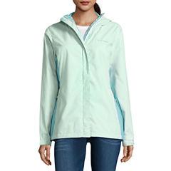 Columbia® Grey Skies™ Long-Sleeve Waterproof Rain Jacket