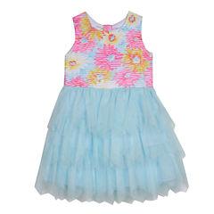 Marmellata Sleeveless Party Dress - Preschool Girls