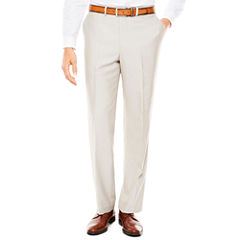 Men's J.Ferrar Bone Shimmer Flat-Front Tapered-Leg Classic Fit Pants