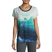 Made For Life Short Sleeve Boat Neck T-Shirt