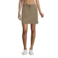 Made For Life Solid Woven Skorts