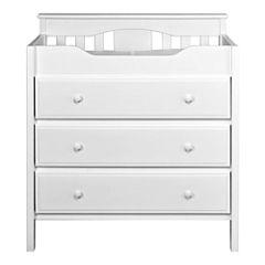 DaVinci Jayden 3-Drawer Changer Dresser - White