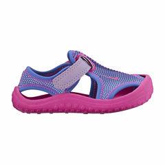Nike® Sunray Protect Adjustable Girls Sandals - Toddler