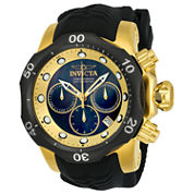 Invicta Venom Mens Black Strap Watch-22359