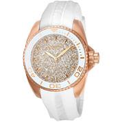 Invicta Womens White Strap Watch-22704