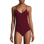 Flirtitude Strappy Seamless Bodysuit-Juniors