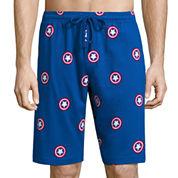 Captain America Knit Pajama Shorts