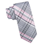 Collection Plaid Tie Extra Long