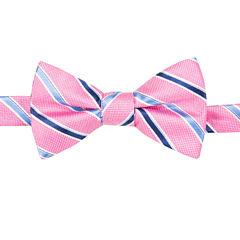 Stafford Stripe Bow Tie