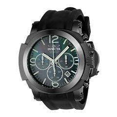 Invicta Coalition Forces Mens Black Strap Watch-22279