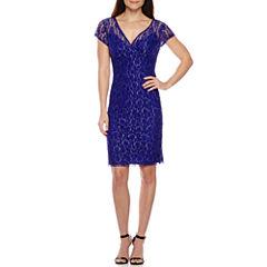 Scarlett Short Sleeve Sheath Dress