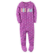 Carter's Girls One Piece Pajama-Baby