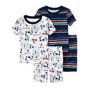 Carter's Boys 4-pc. Kids Pajama Set-Baby