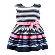 Carter's Short Sleeve Babydoll Dress - Preschool Girls